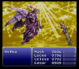 Screenshot Thumbnail / Media File 1 for Final Fantasy III (USA) [Hack by Tzepish v1.2] (~Final Fantasy IV - Enhanced Editon)